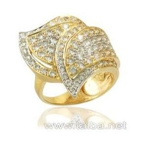Taiba dubai jewelry offers 21k and 18k white gold jewelry and