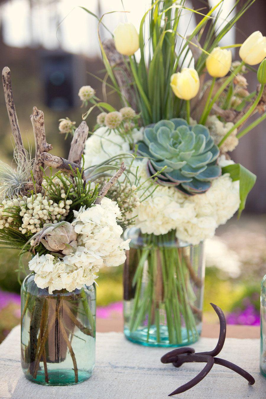 Photography: Danielle Gillett Photography,Floral Design + Decor: Seascape Flowers via style me pretty