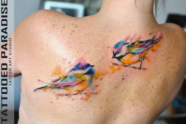 These are some beautiful tats. Beautiful designs. I love watercolor.  30 Watercolour Tattoos