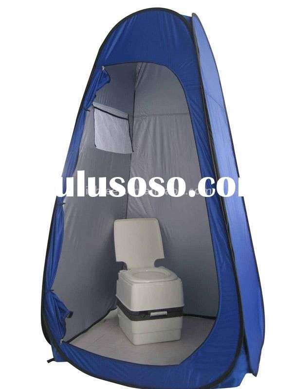 Ordinary Pop Up Bathroom Tent 1 Toilet Jpg