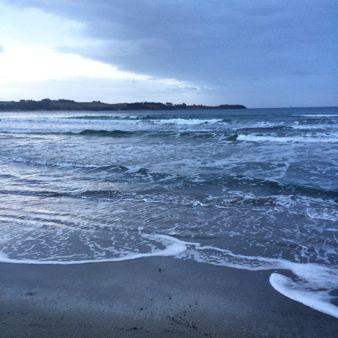 Winterday on The beach of Sola Stavanger Norway