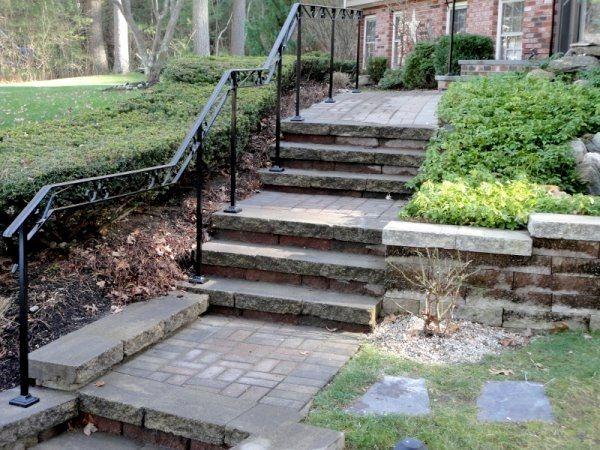 Walkway rail in Billerica , Ma | Railings outdoor, Outdoor ...
