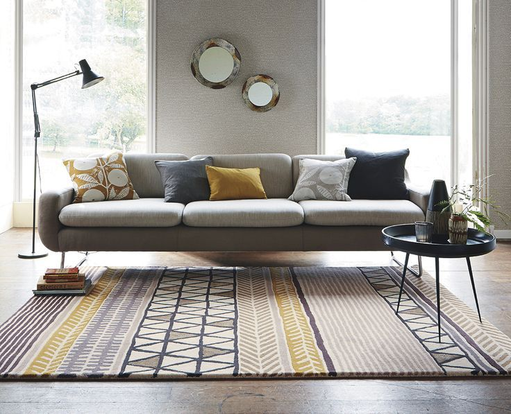 Image Result For Citrus Yellow Rug Woonkamer Grijs Vloerkleed Inspiratie Vloerkleed Modern #yellow #rug #living #room