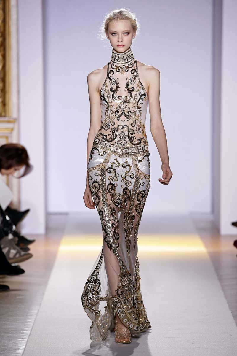 Zuhair Murad Haute Couture Spring 2013 Knocking At The Chambre