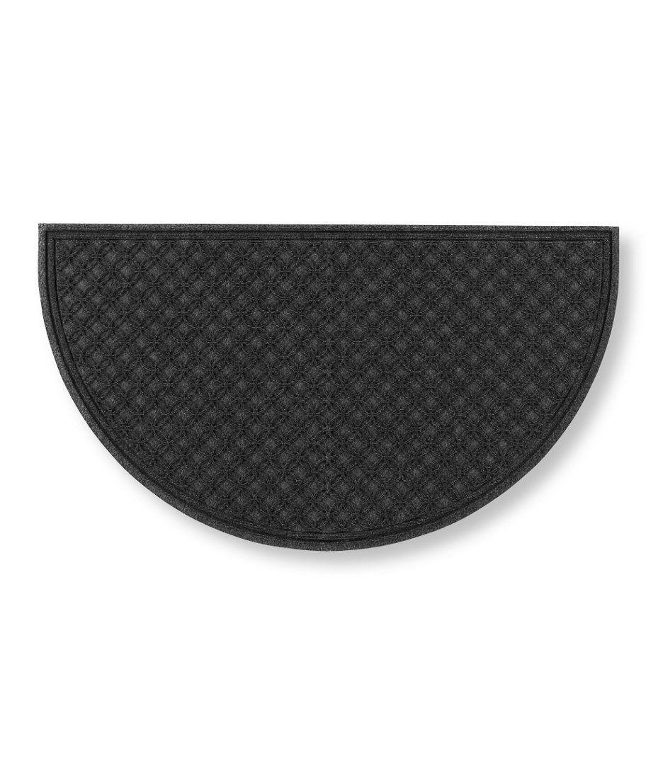Waterhog Doormat, Recycled Crescent Locked Circles
