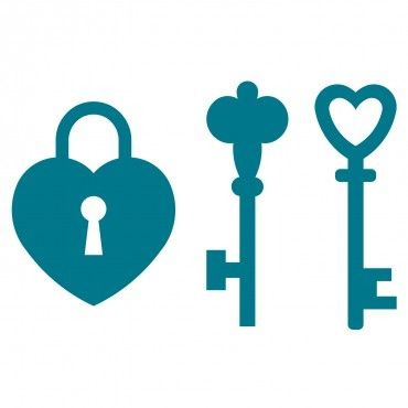 Lock & Keys | Silhouette design, Silhouette images ...