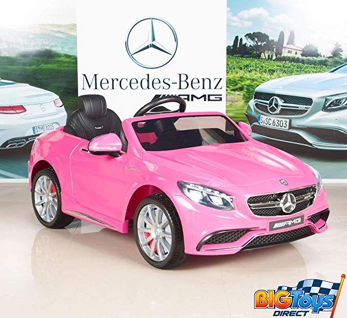 BIG TOYS DIRECT Mercedes-Benz S63 Girls 12V Battery