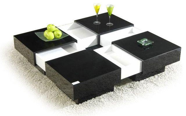 Modernistisk moderne sofabord med opbevaring foto - 3 | sofa bord med rum EV-63