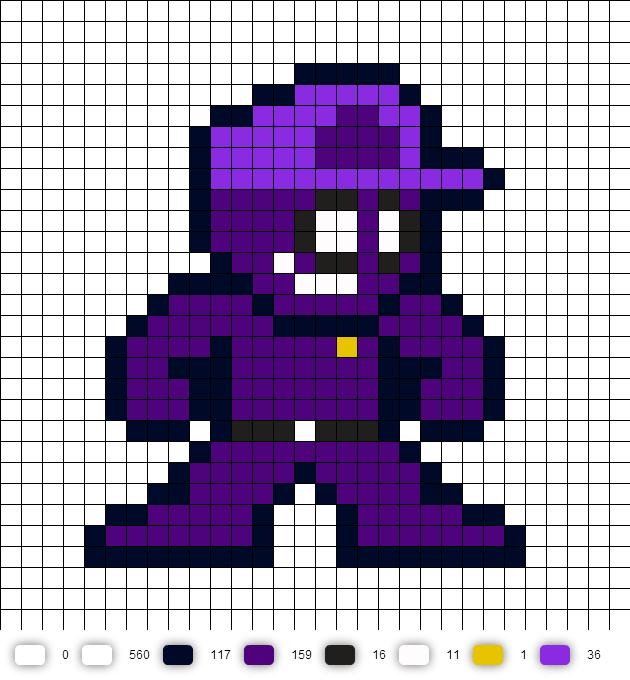 154 Best Five Nights At Freddys Pixel Art/Perler Beads images ...