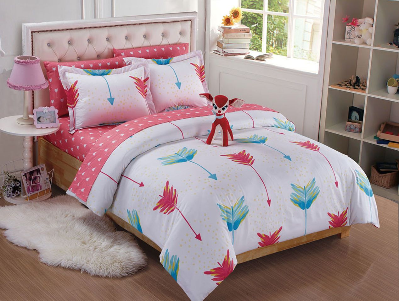 Firefly 8pc full bedding set corinne 39 s big girl room - Complete bedroom sets with mattress ...