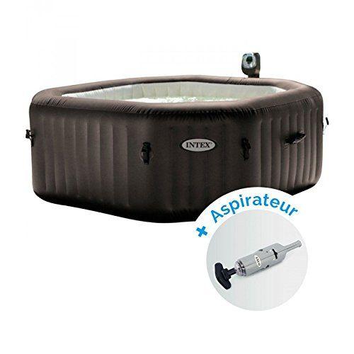 Pack Spa Gonflable Intex Pure Spa Jets Et Bulles 4 Personnes Aspirateur Nettoyeur A Batterie Spa Gonflable Intex Spa Gonflable Piscine Spa