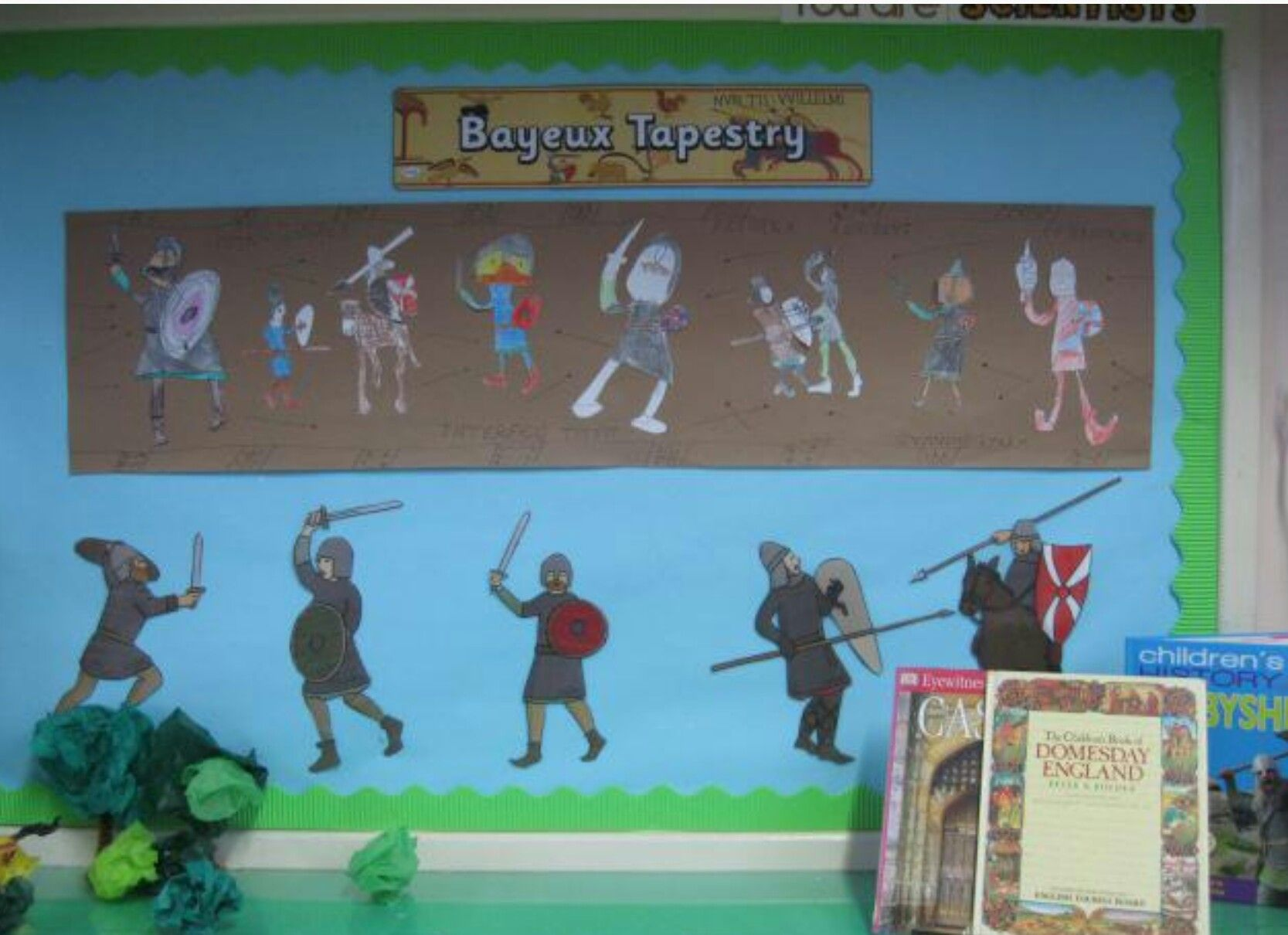 Bayeux Tapestry Display
