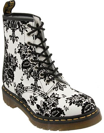 Dr martens boot 1460 w floral boots black women shoes and dr martens boot 1460 w floral boots black women mightylinksfo Image collections