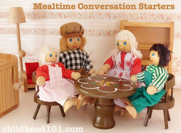 Family Meal Time Conversation Starters