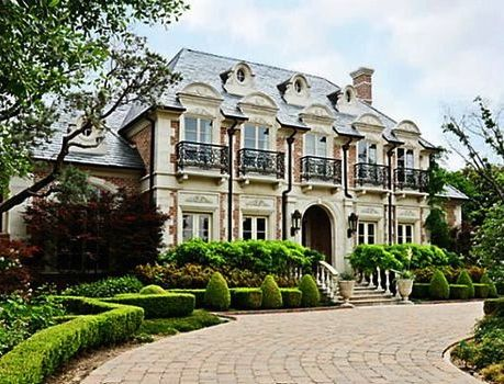 French French Architecture Mansions House Exterior