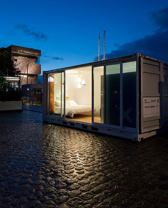 Sleeping Around Hotel A Anvers Container Homes Cost Shipping