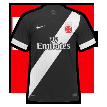 Camisa Vasco III 2015 Torcedor Masculino Vasco da Gama em