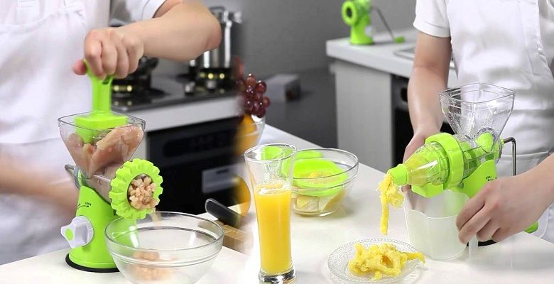May Xay Ep 2 Trong 1 Roller Manual Juicer Dml Trai Cay Cay Sinh Tố