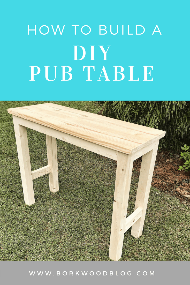 Diy Pub Table Diy Furniture Projects Diy Furniture Diy Table