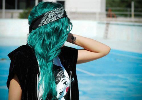 Part of my hair is this color, still kinda wishing I could have done a whole side or the whole thing!!