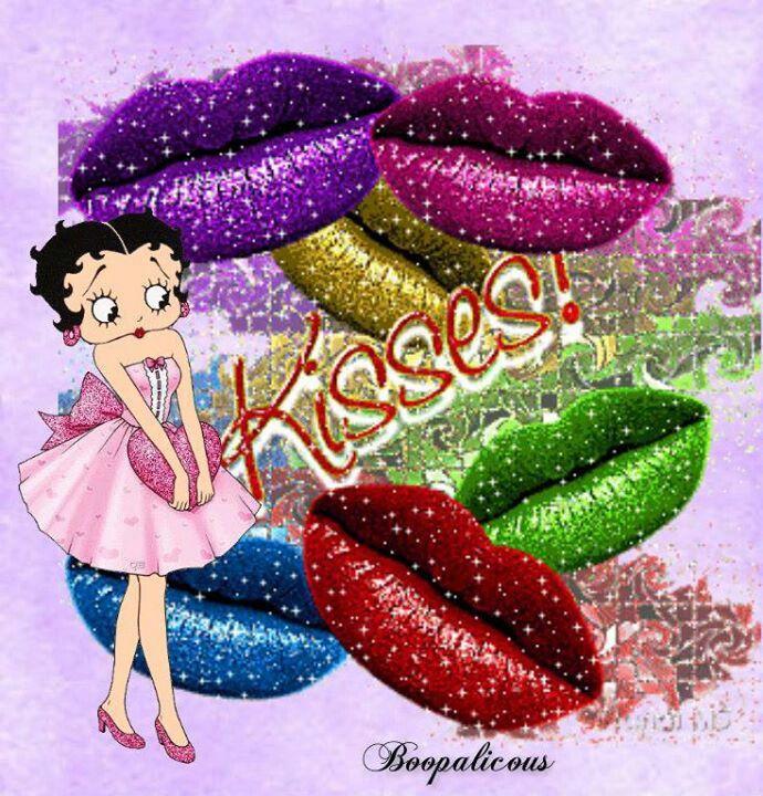 Kiss kiss Betty Boop