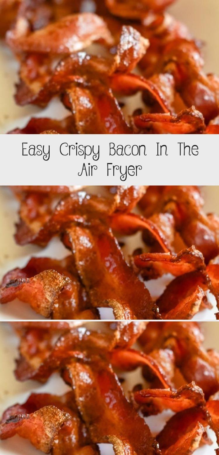 Air Fryer Crispy Bacon is a great choice for breakfast. It