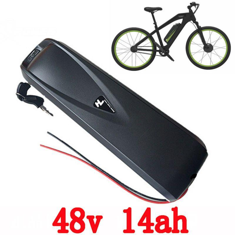 Sanyo Cells 48v Electric Bike 13s4p Down Tube Battery 750w 1000w