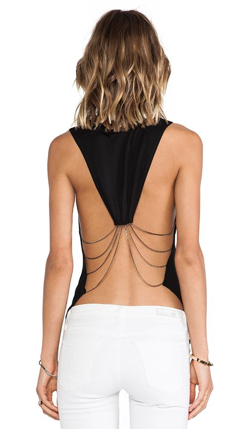 Shop for Haute Hippie Drape Chain Tank in Black at REVOLVE. Free 2-3 day shipping and returns, 30 day price match guarantee.