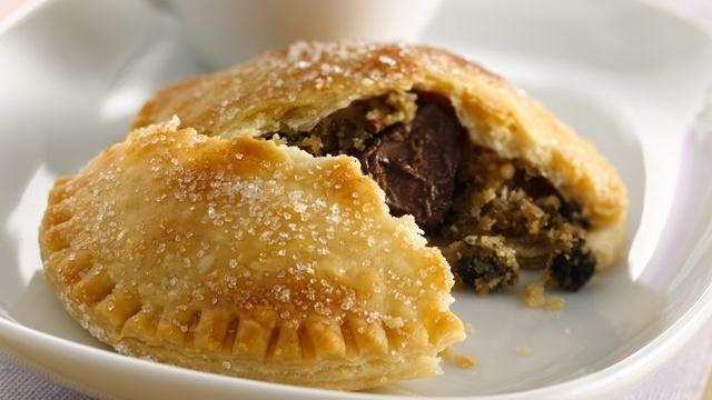 Chocolate Chip Cookie-Stuffed Pies