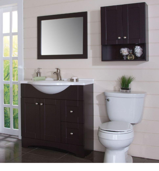Glacier Bay Bathroom Cabinets Is Created For Design Of The Present