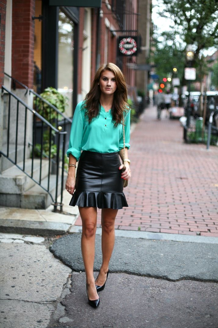 Jessye of City Tonic styles our Ruffle Skirt. #Gorg | My Style ...