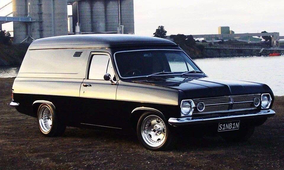 Hr Panel Van Holden Muscle Cars Australian Cars Australian
