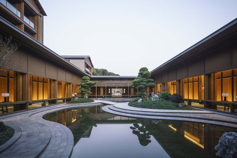 Gallery Of Xianghu Xiaoyao Manor Goa 9 Chinese Courtyard House Landscape Architecture