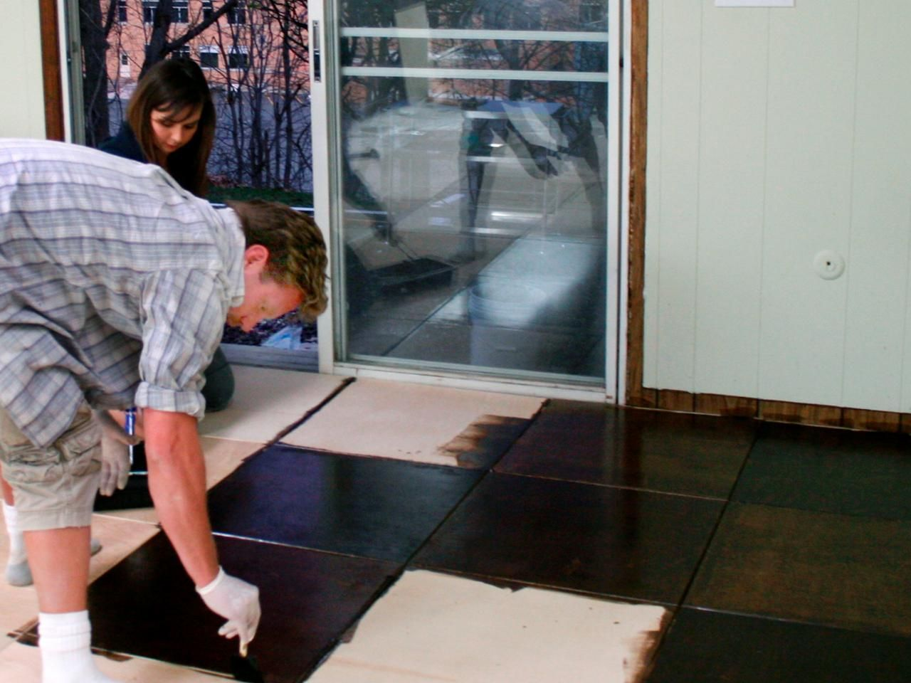 How to install plywood floor tiles plywood hgtv and flooring ideas how to install plywood floor tiles dailygadgetfo Images