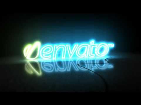 neon sign after effects template way to download https