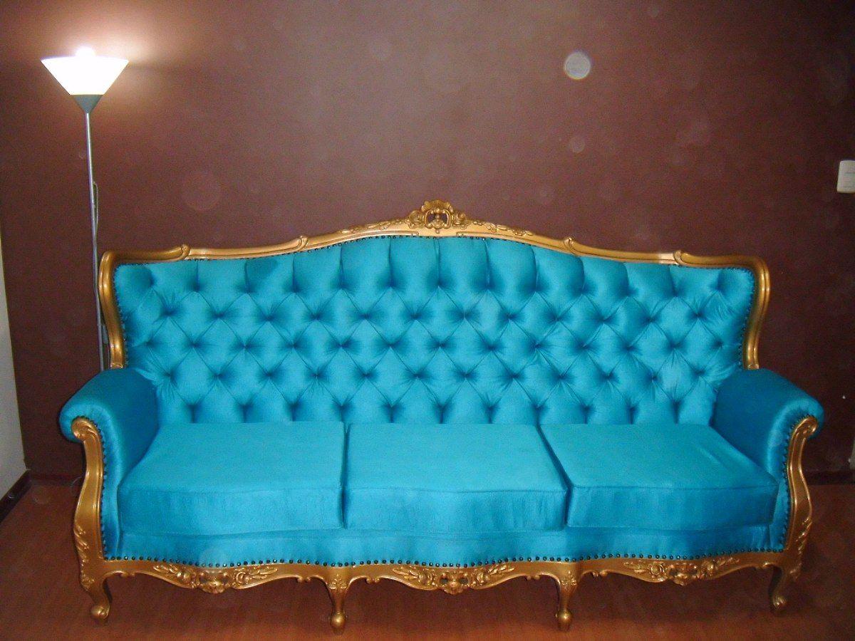 Sillon luis xv reina ana sillas sillones luis xv sill n luis xv y muebles - Sillones antiguos restaurados ...