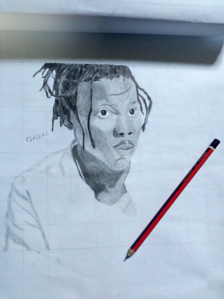 Stonebwoy music artists sketches croquis draw sketch musicians sketching