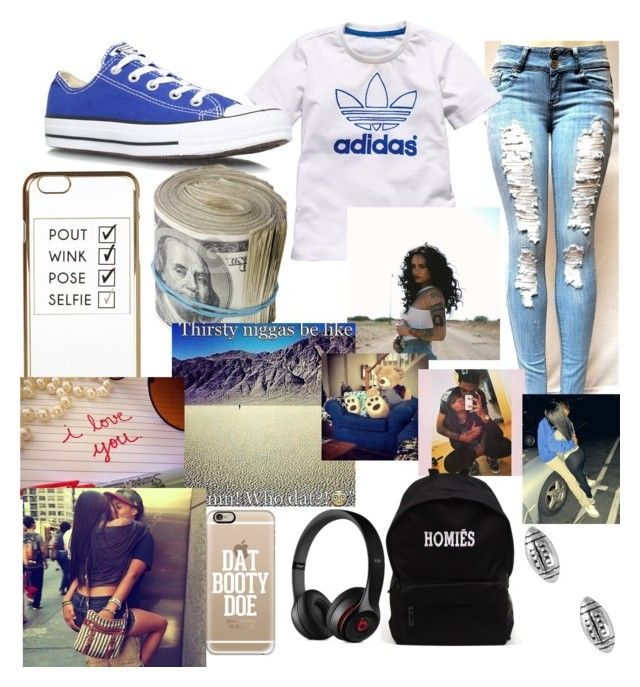 Adidas by ceph1225 on Polyvore featuring polyvore, fashion, style, Converse, Jewel Exclusive, Casetify, Black Apple, River Island, adidas and Therapy