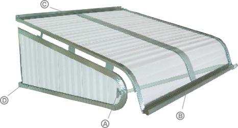 Aluminum Awnings By Nuimage Awnings Come Available With