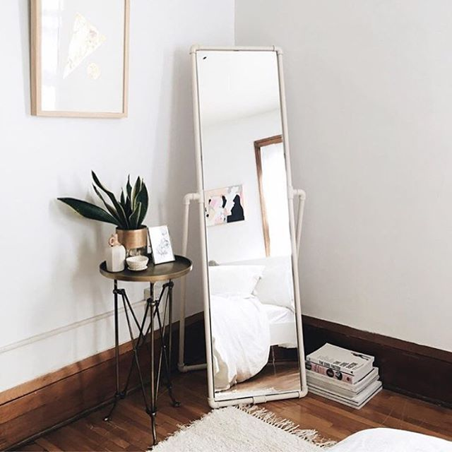 cute little corner  bedroom mirror home inspiration