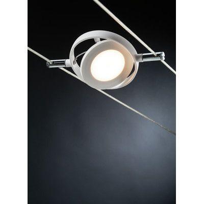 paulmann wire systems 6 light led roundmac track light lighting
