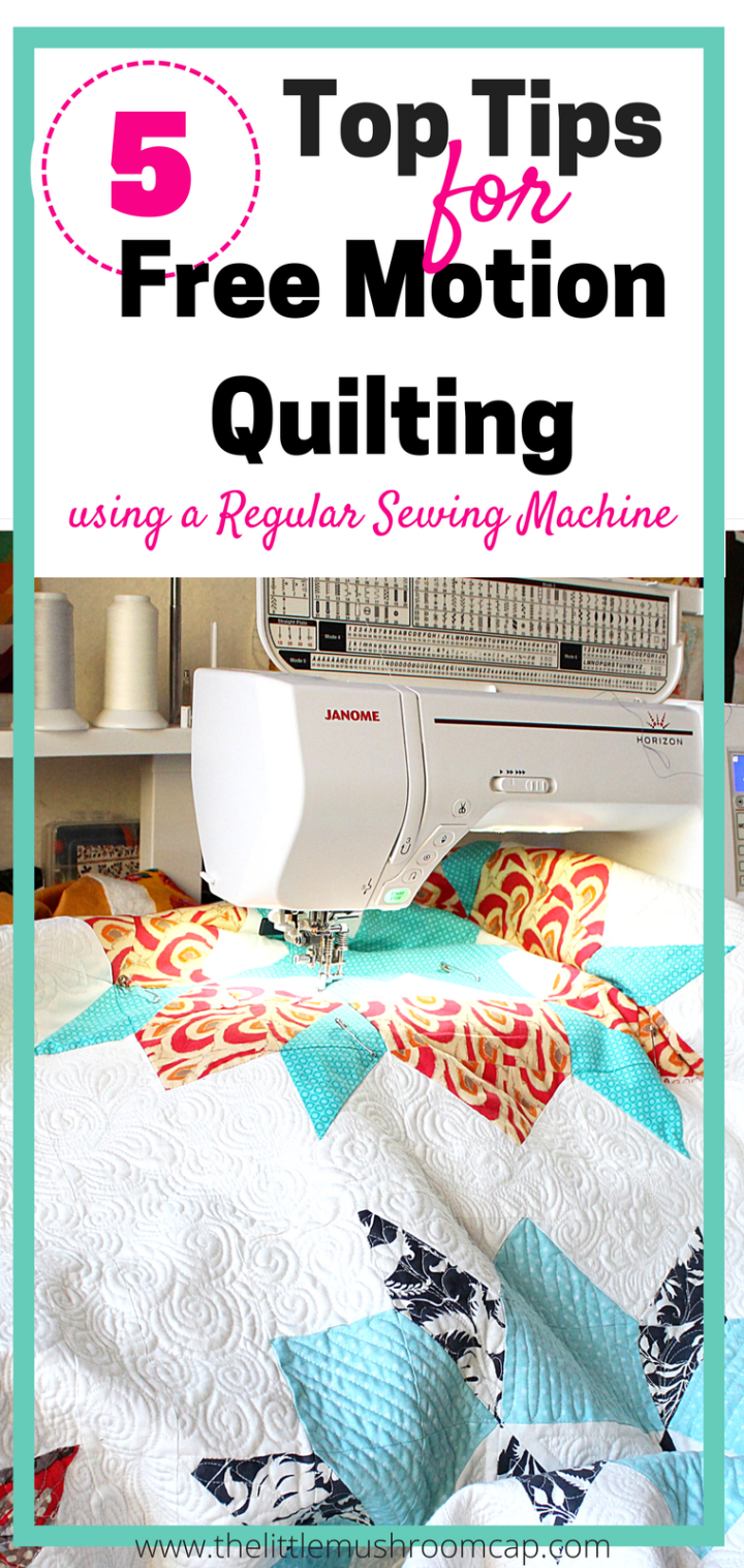 Solving the 5 common free motion quilting problems | Quiltmuster
