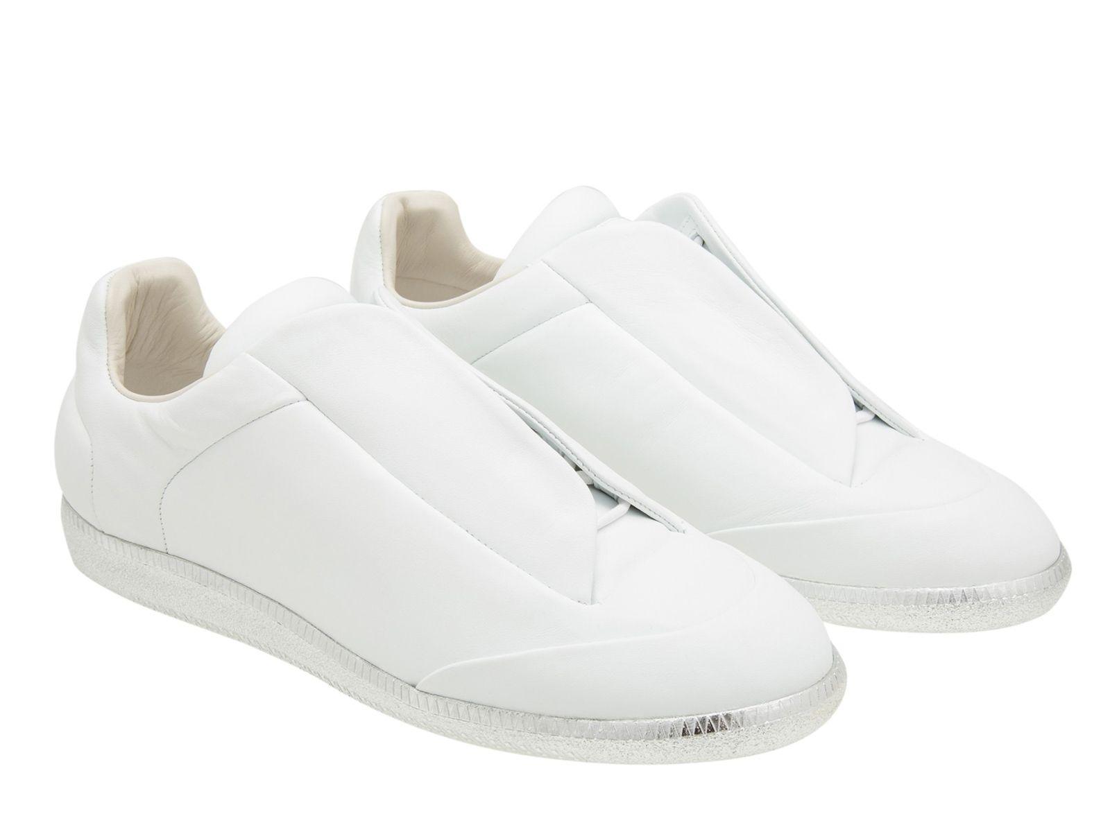 Maison Margiela men's sneakers in white