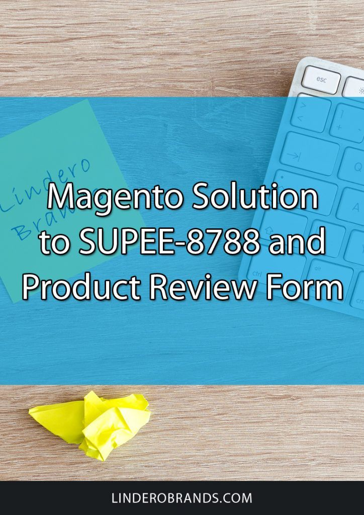 A quick fix solution to Magentou0027s product review form due to - product review template