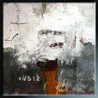 Abstrakte Malerei v. Klos