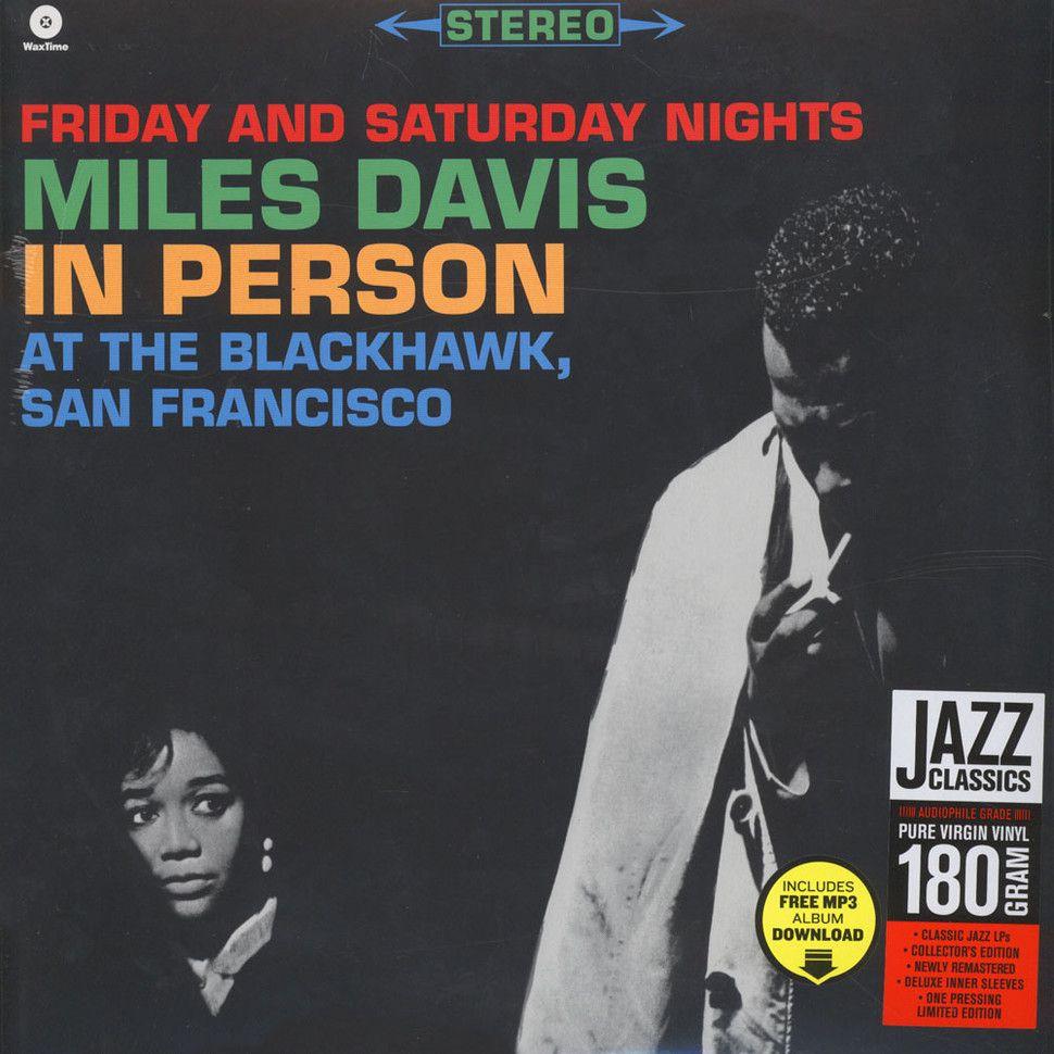 Miles Davis In Person At The Blackhawk Vinyl 2LP
