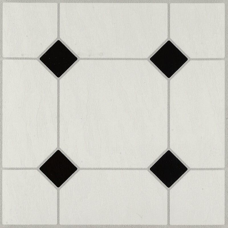 Afton Diamond Jubliee 12 X 12 X 0 1 Mm Vinyl Tile In 2020 White Vinyl Flooring Peel And Stick Floor Vinyl Tile