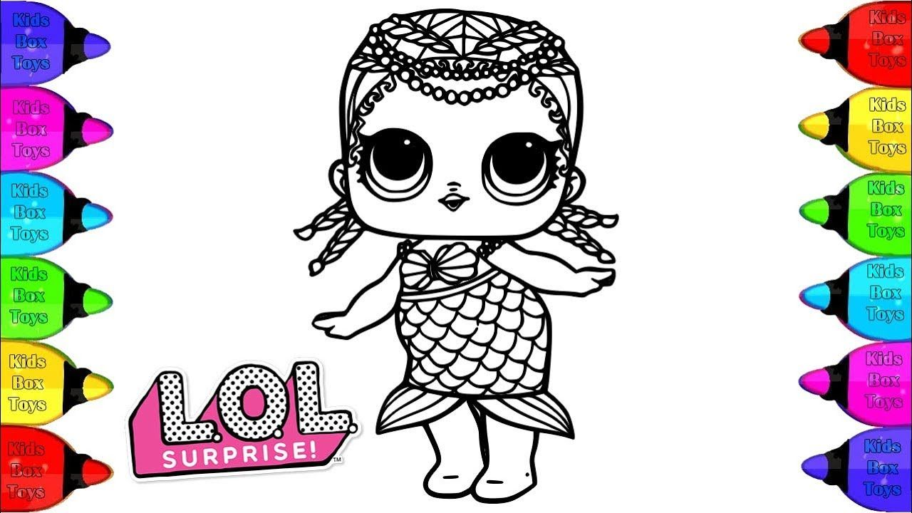 coloring lol surprise doll coloring pages | how to paint