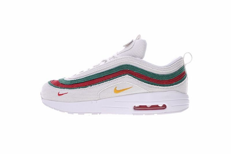 fe7327eee5c Cheap Priced Gucci x Sean Wotherspoon x Air Max 1 97 VF SW Hybrid  AJ4219-136 White Muli-Color For Sale