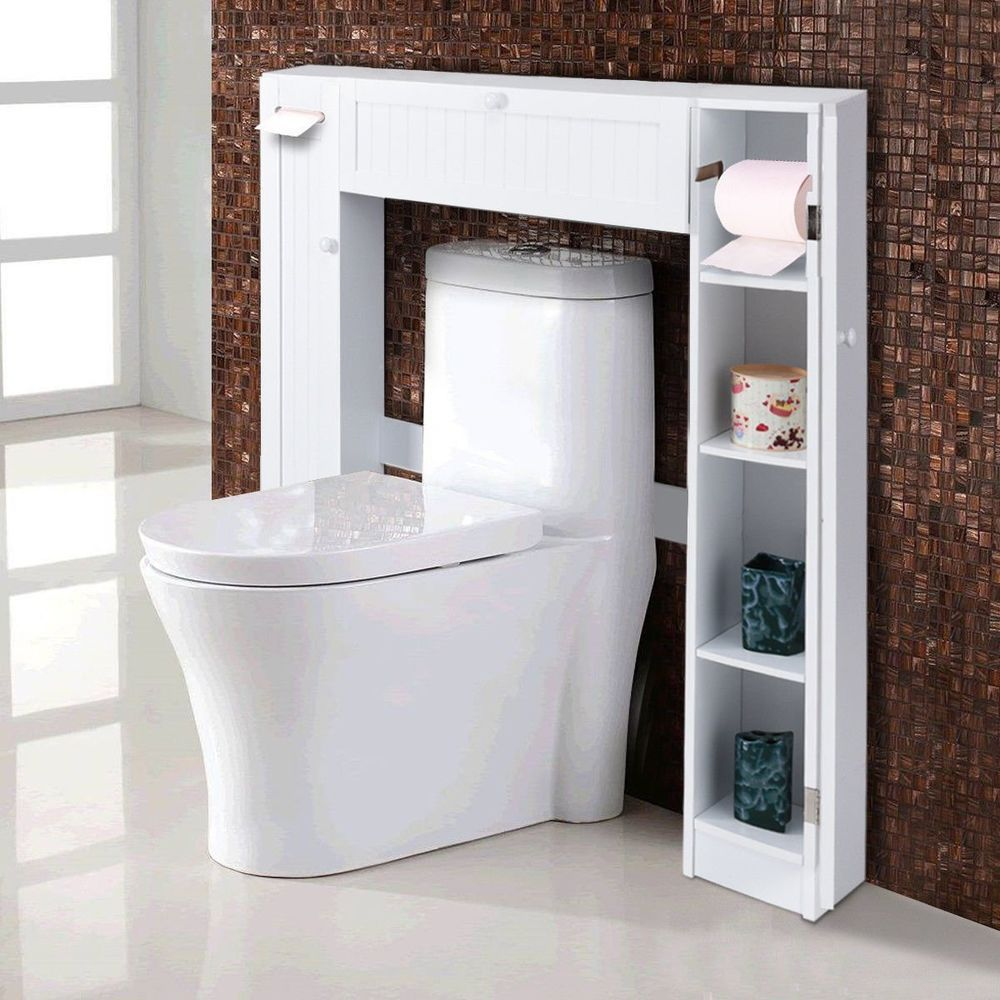 The Generous Center Cabinets And Two Side Cabinets Allow You To Organize And Separate Your Personal Toilet Storage Bathroom Space Saver Small Bathroom Storage [ jpg ]